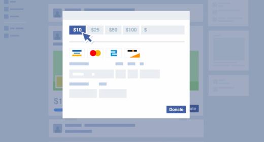 Facebook Fundraiser payments
