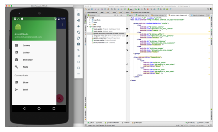 The new emulator in  Android Studio 2.0 is 50 times faster than before