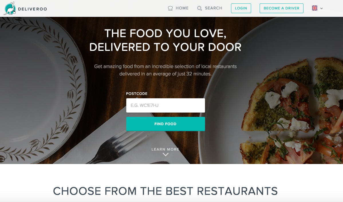 London's on-demand food service Deliveroo heads to Asia and Australia