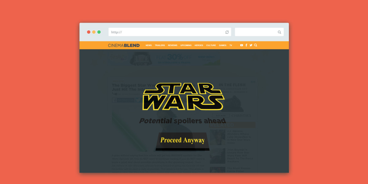 Avoid Star Wars spoilers online with this handy Chrome extension