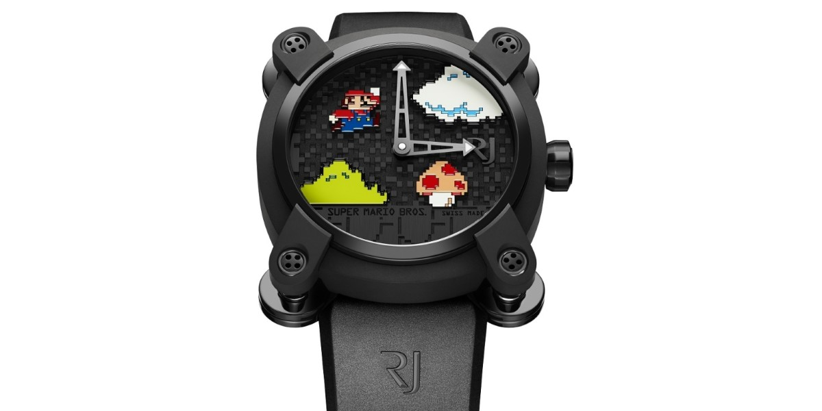 Do you like Super Mario enough to spend nearly $19,000 on a watch?