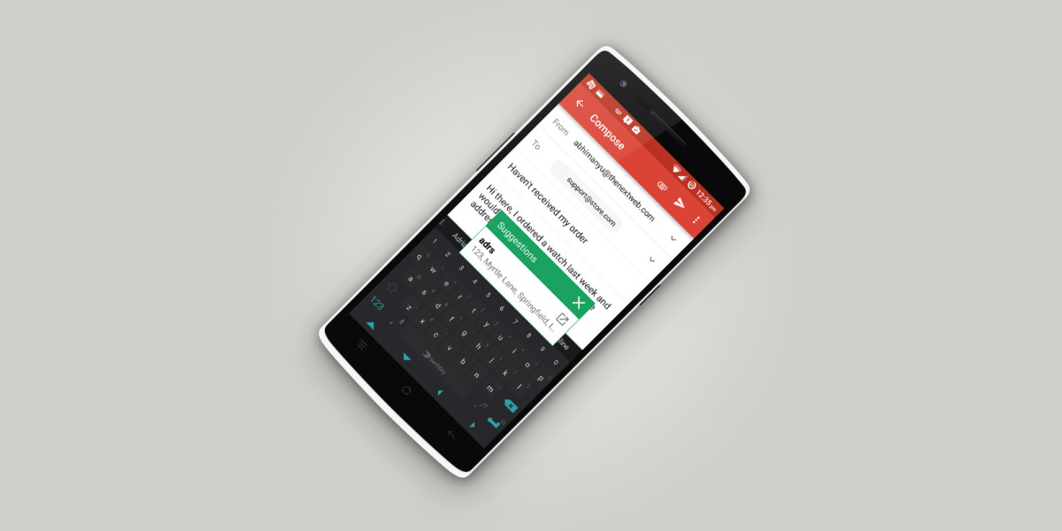 Texpand for Android saves you loads of keystrokes unintrusively