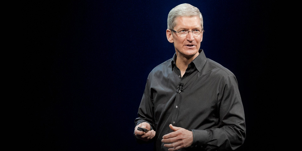 Tim Cook says Apple won't build a Surface rival