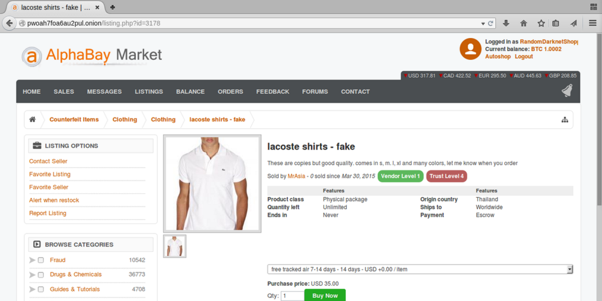 'Random Darknet Shopper' bot that bought ecstasy online is going on another spending spree ...