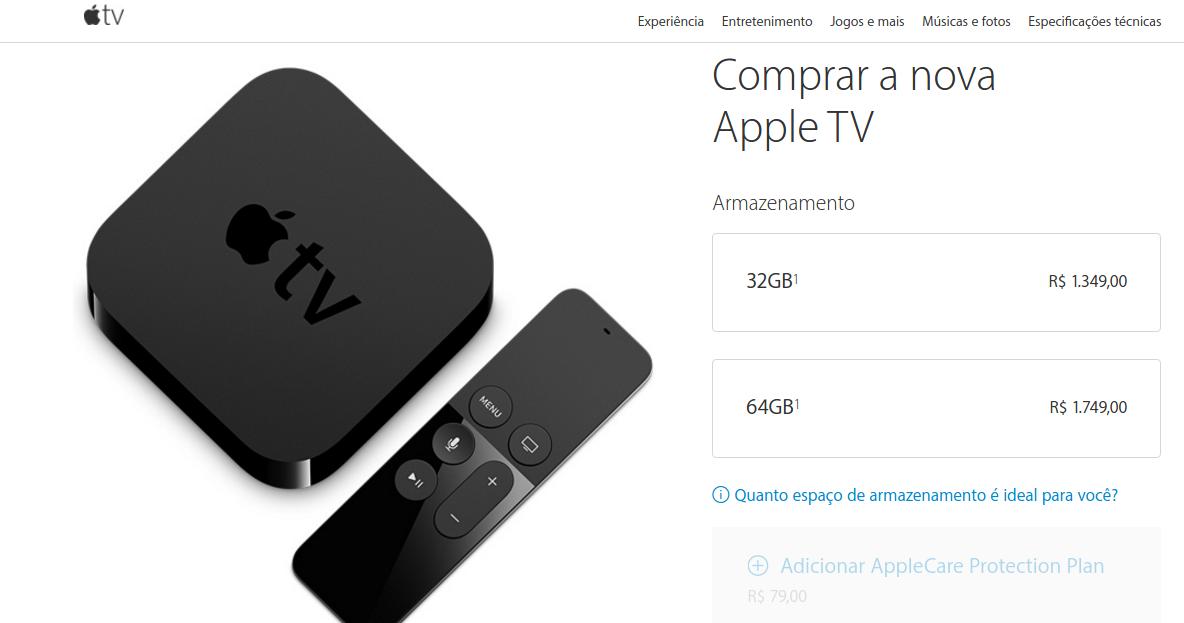 apple tv brazil
