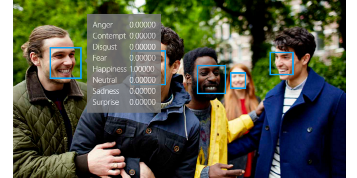 Microsoft has a new tool that can guess how you're feeling from a photo