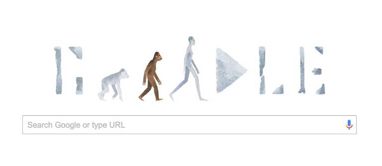 Creationists are flipping out over the latest Google Doodle