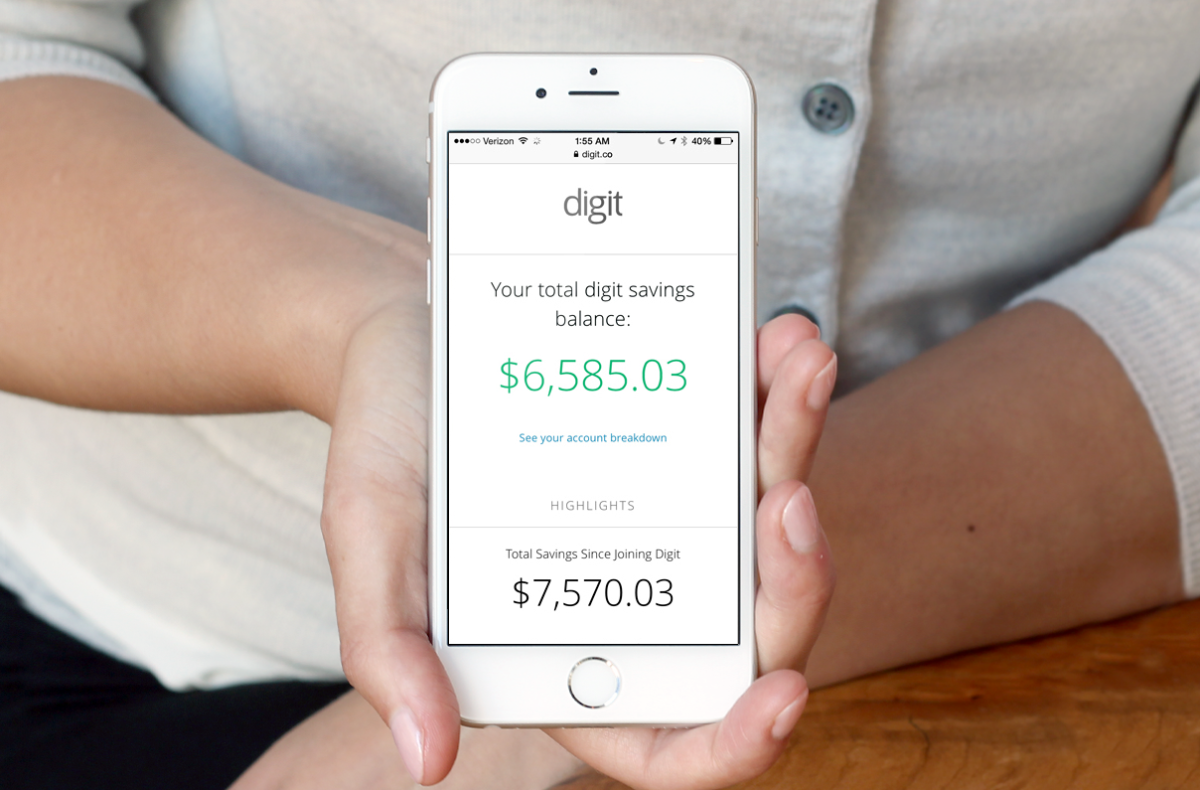 TNW's Apps of the Year: Digit turned me into a money-saving machine