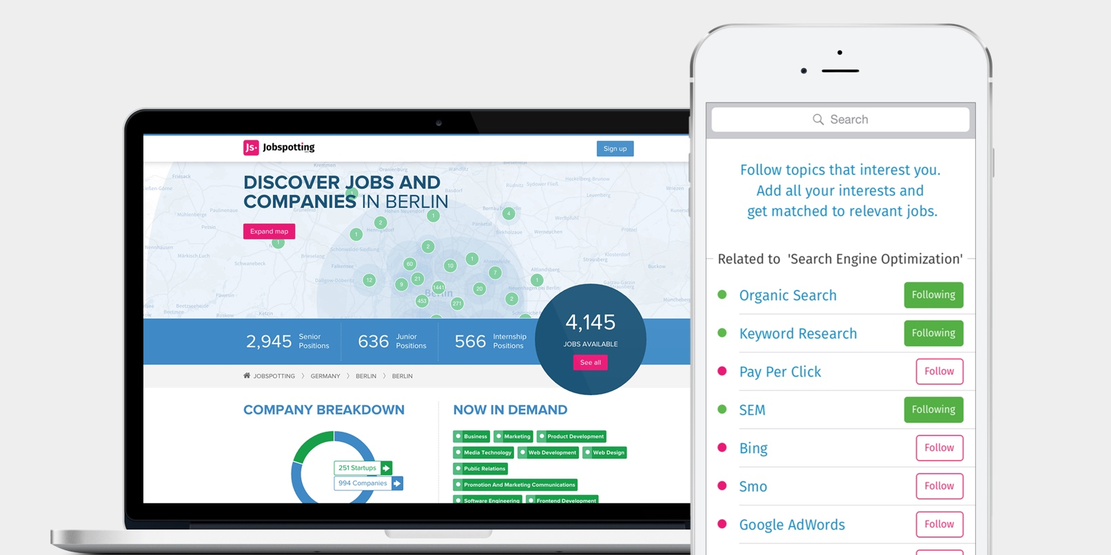 Jobspotting launches a new analytics dashboard for recruiters