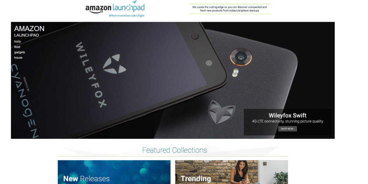Amazon's innovation marketplace launches in the UK