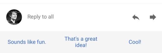 smart replies
