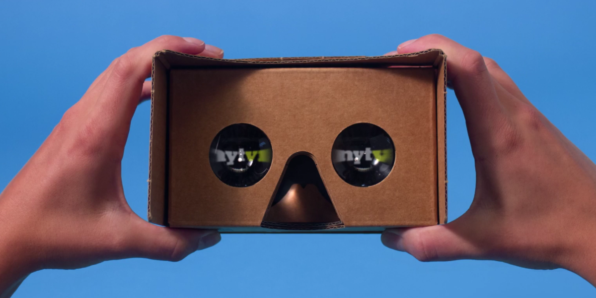 The New York Times just launched a Google Cardboard-powered VR app