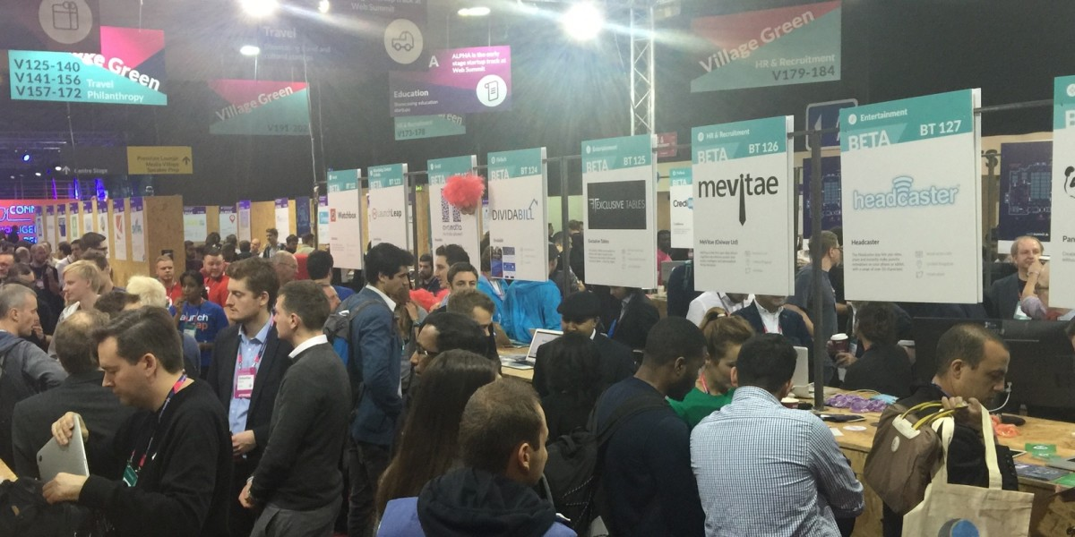 Startup bearpit: How teams are fighting for attention at the Web Summit