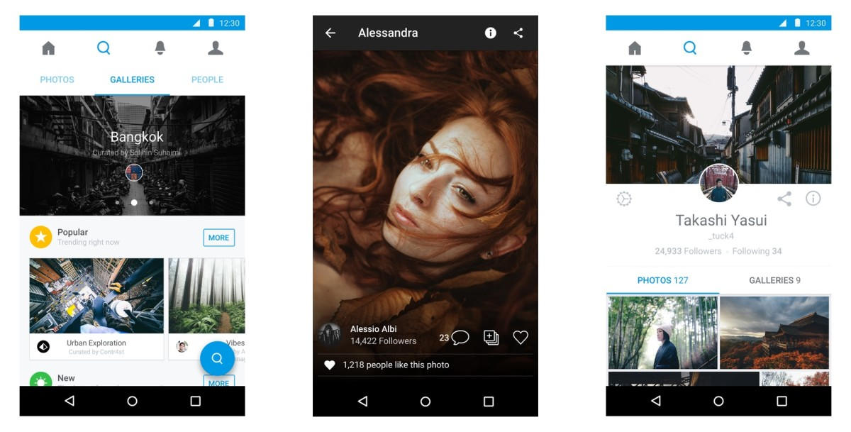 500px hits Apple TV while its Android, iOS and Web apps get new 'Galleries' feature