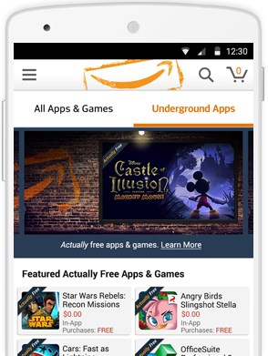 Amazon Underground lets you play loads of quality games for free