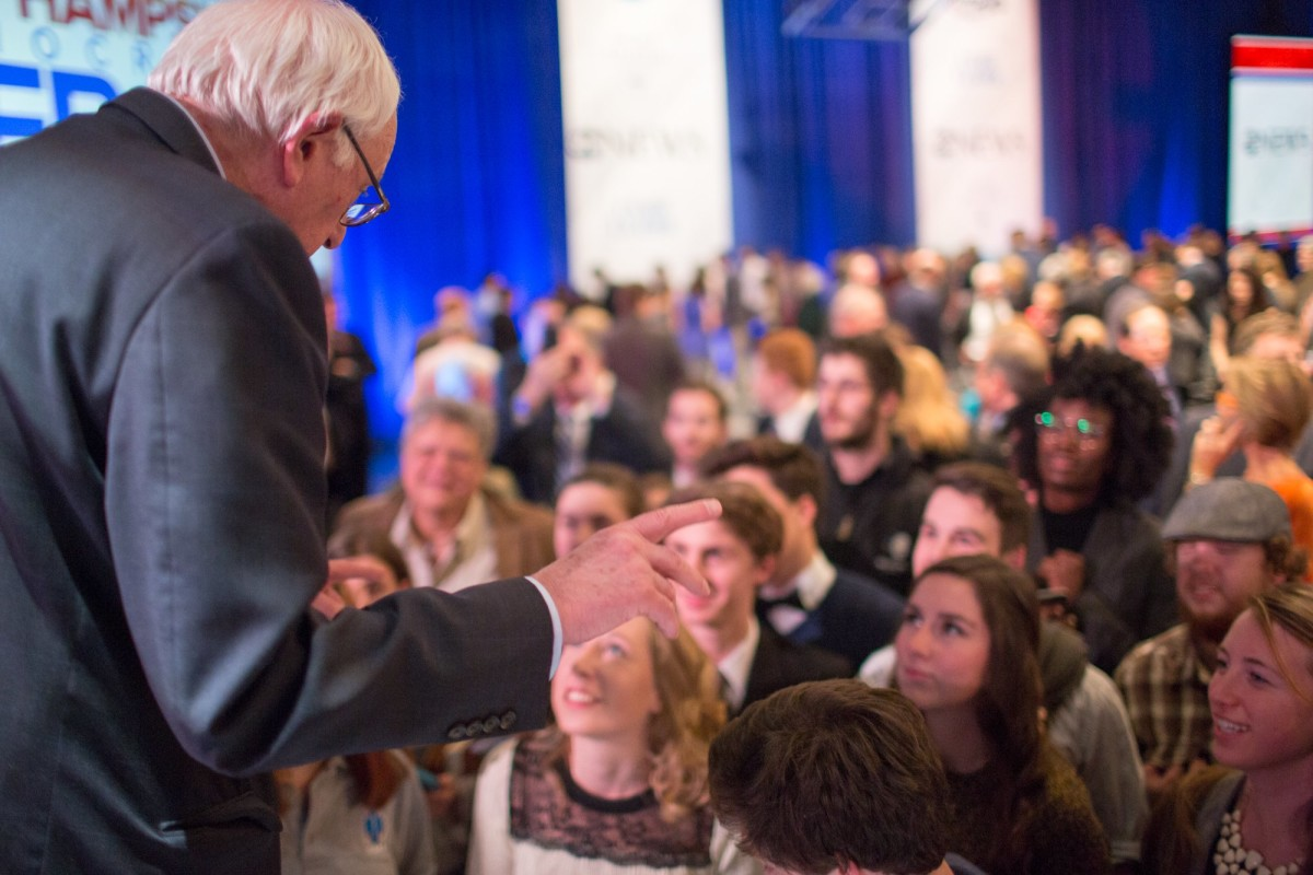 Bernie Sanders just broke Obama's record for digital fundraising