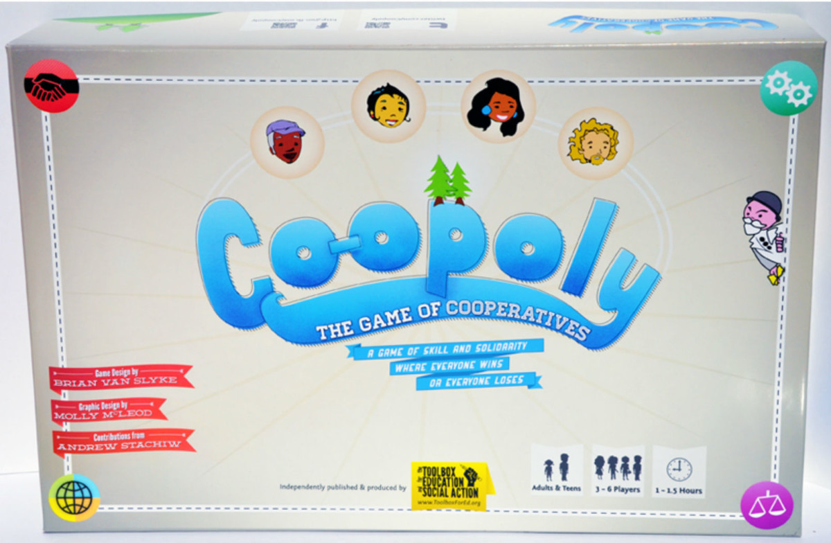 Ideal Gifts: Co-opoly, the game where everyone wins, or everyone loses