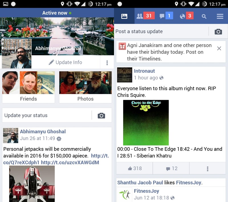 Facebook Lite serves up your News Feed in a lightweight app that consumes less data