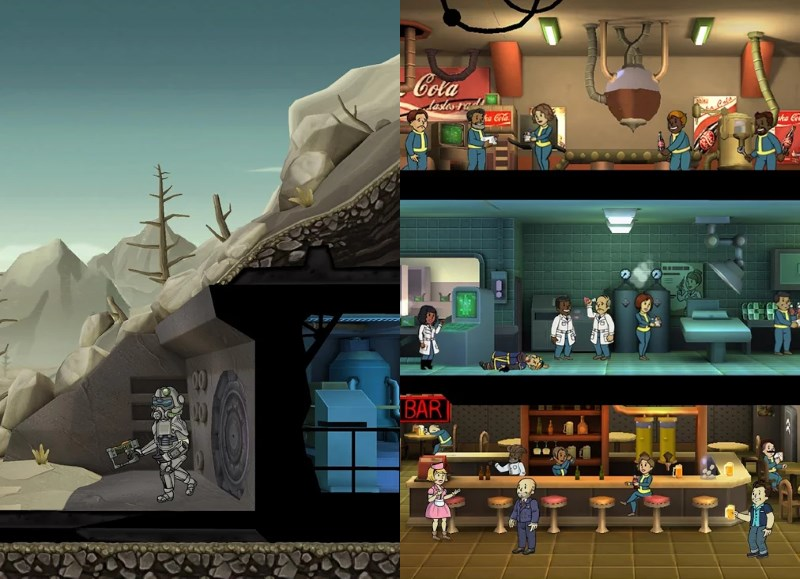 Fallout Shelter sees you managing a nuclear bunker filled with inhabitants and ensuring their well-being