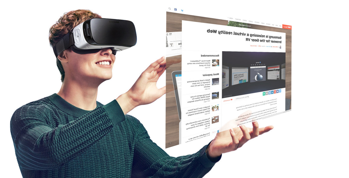 VR Web browsing might ultimately be one of Samsung and Oculus' best tricks