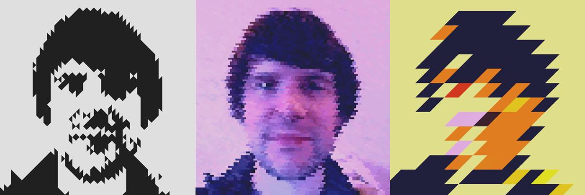 GeometriCam selfies
