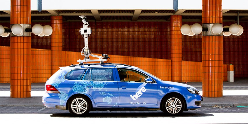 HERE wants to be the maps guiding your self-driving car