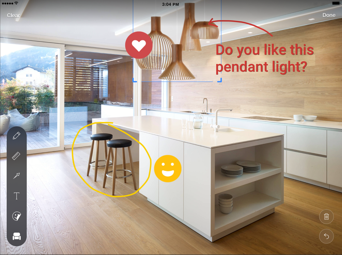 Houzz introduces new sketch and collaboration features