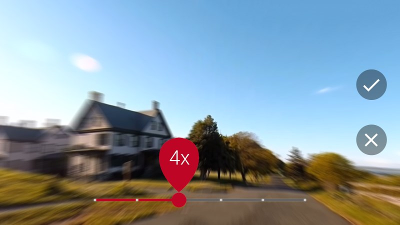 Hyperlapse smoothens and stabilizes your time lapses so they're enjoyable to watch