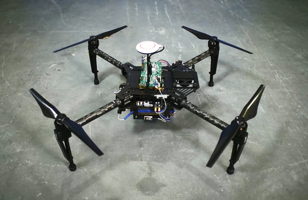 This hydrogen-powered drone can fly for up to two hours