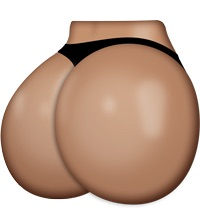 Kim butt