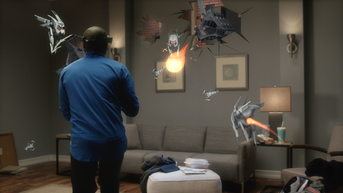 Project X-Ray turns your living room into a battlefield