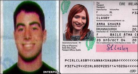 Passport theft BBC