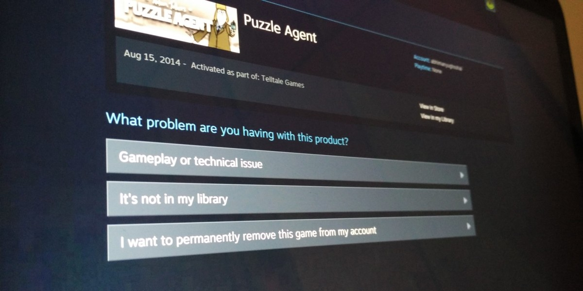 Steam now lets you remove games from your account for good