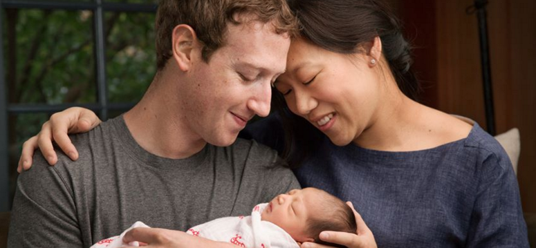 Mark Zuckerberg and wife welcome daughter Max, pledge 99% of their Facebook shares to charity