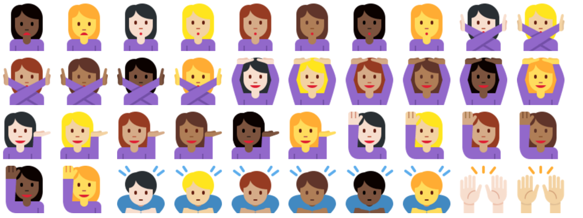Twitter finally gets support for new emoji and racially diverse icons