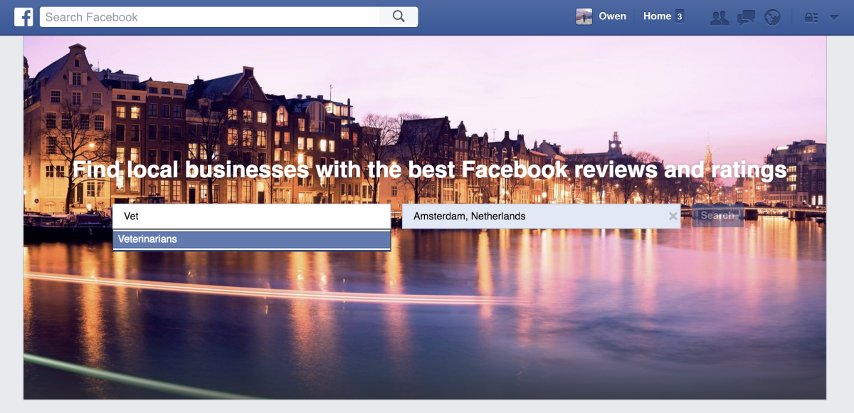 Facebook is quietly testing a Yelp killer