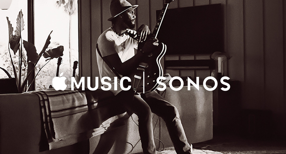 Apple Music is available on Sonos from today