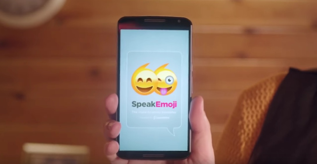 SpeakEmoji translates anything you say into emoji
