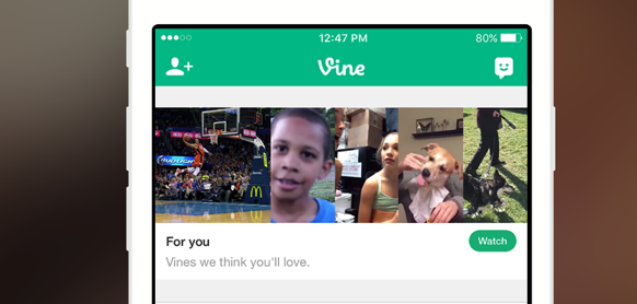 Vine now force-feeds you content it thinks you'll like