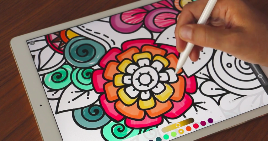 Pigment Is An IOS Coloring Book For Grown Ups