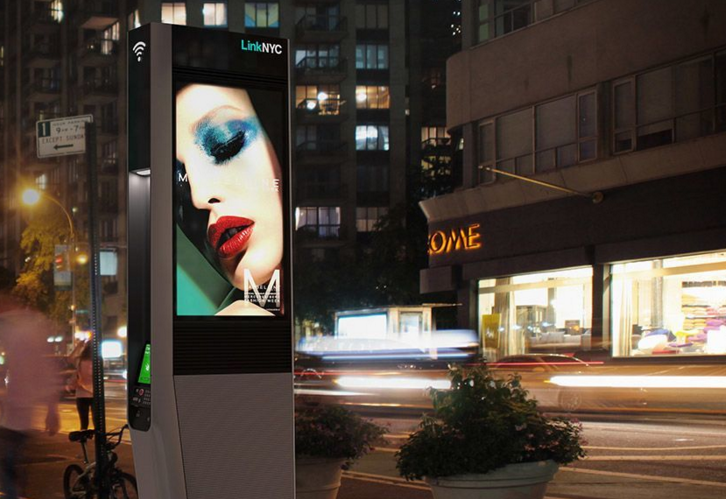 Google's grab for the sidewalk has begun with the rollout of LinkNYC free public Wi-Fi