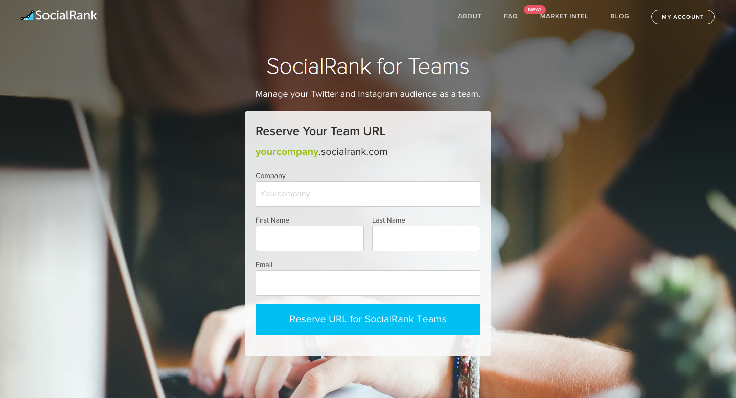 SocialRank amps up support for Teams, lets you scope anyone's followers