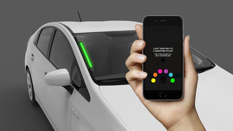 Uber SPOT lights will help you see which driver is waiting for you