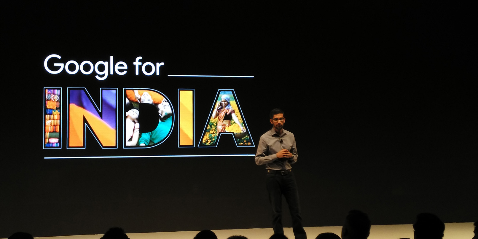 Sundar Pichai says Google is just getting started in India