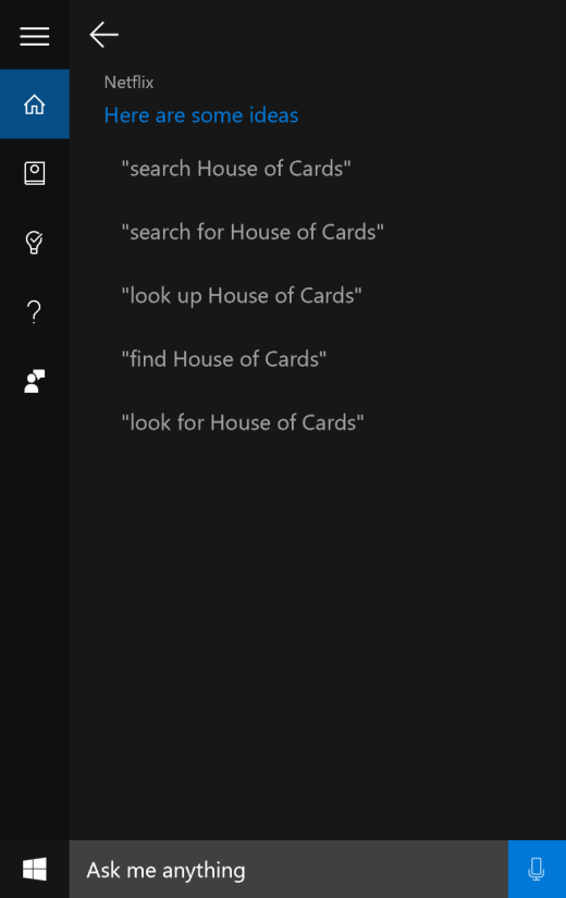 You can now look up Netflix content with voice commands using Cortana