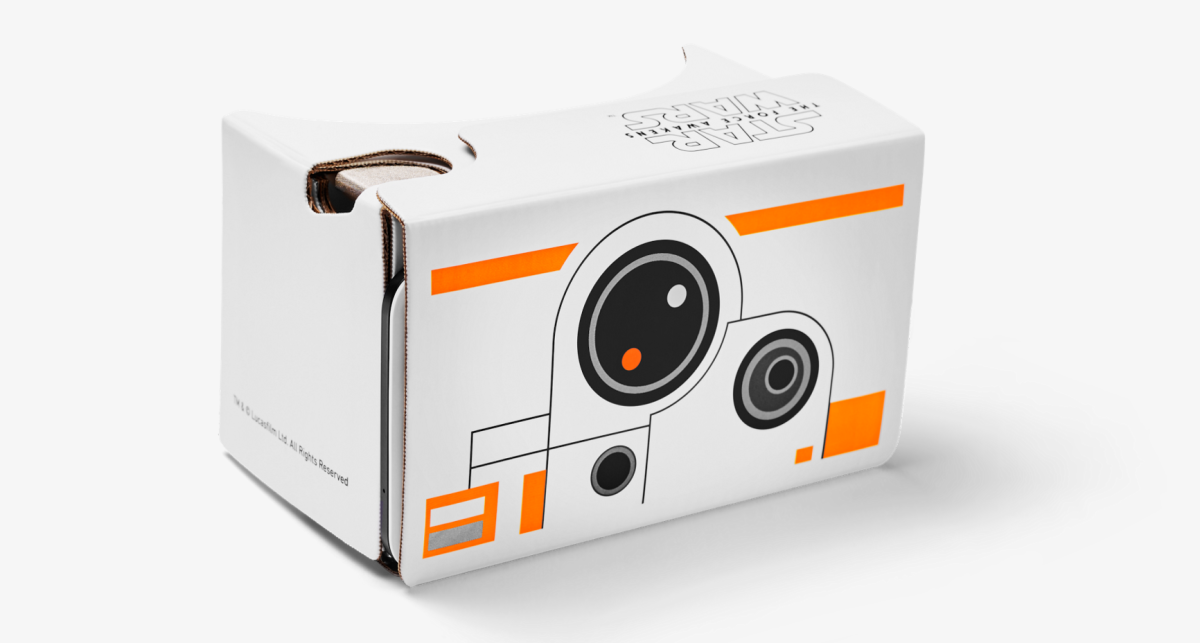 Grab a free Star Wars-themed Google Cardboard before they're gone for good