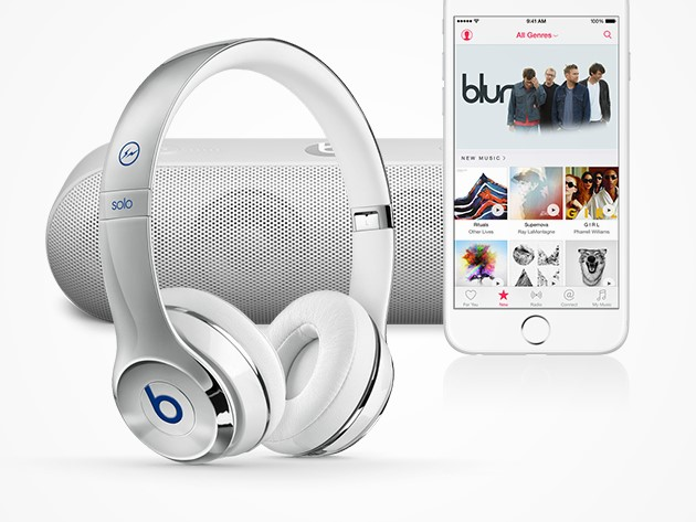 Win: Apple Music, Beats By Dre headphones and a Beats Pill+ Speaker