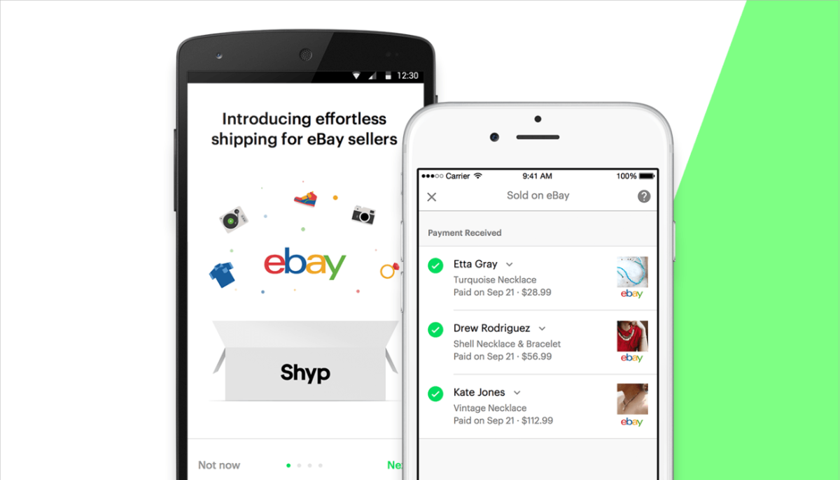 Shyp's partnership with eBay takes care of logistics for sellers