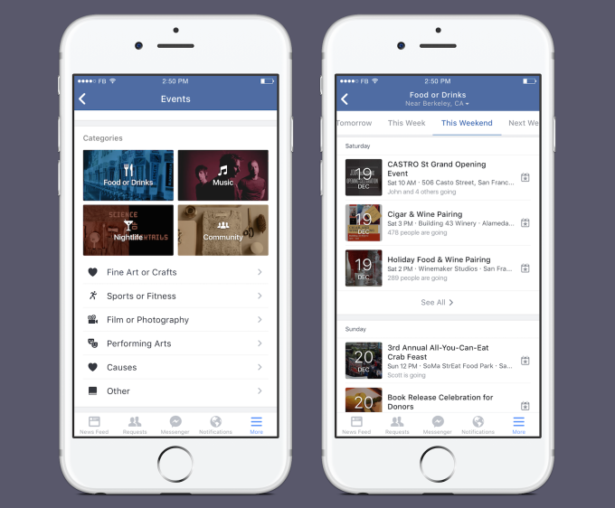 Facebook Events improvements make it easier than ever to become a social butterfly