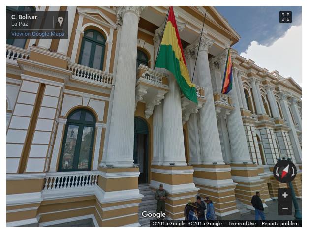 google street view la paz